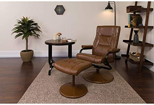 Flash Furniture Contemporary Palimino Leather Recliner