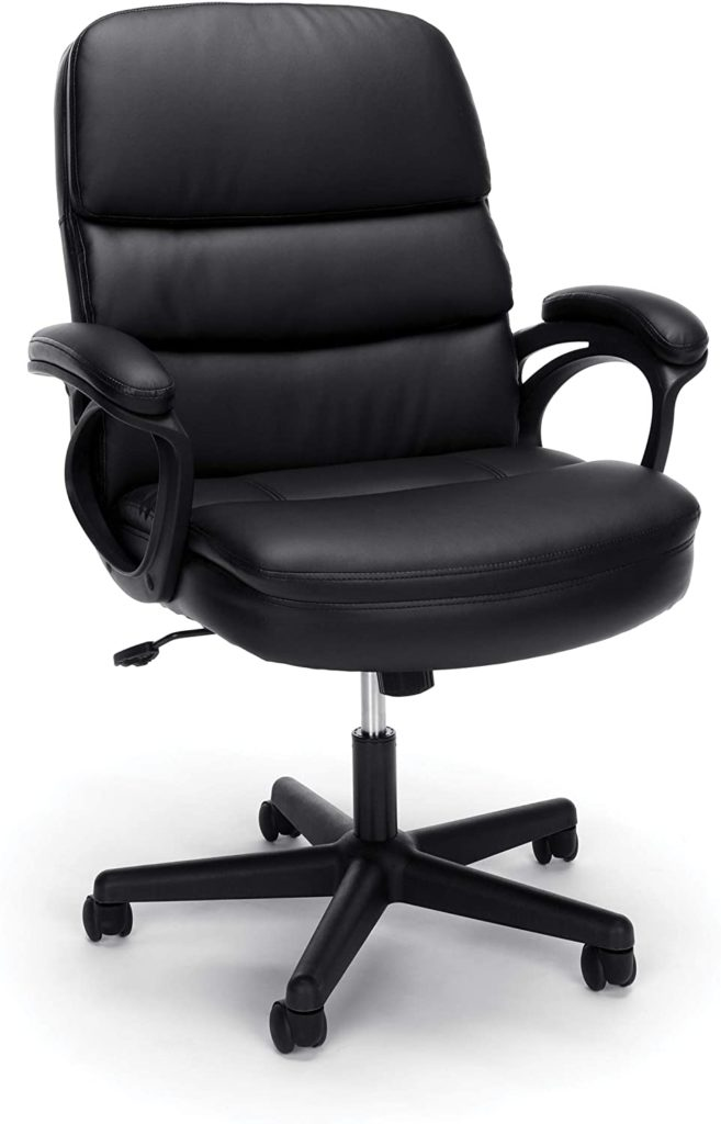 OFM Essentials Collection Bonded Leather Racing Style Gaming Chair