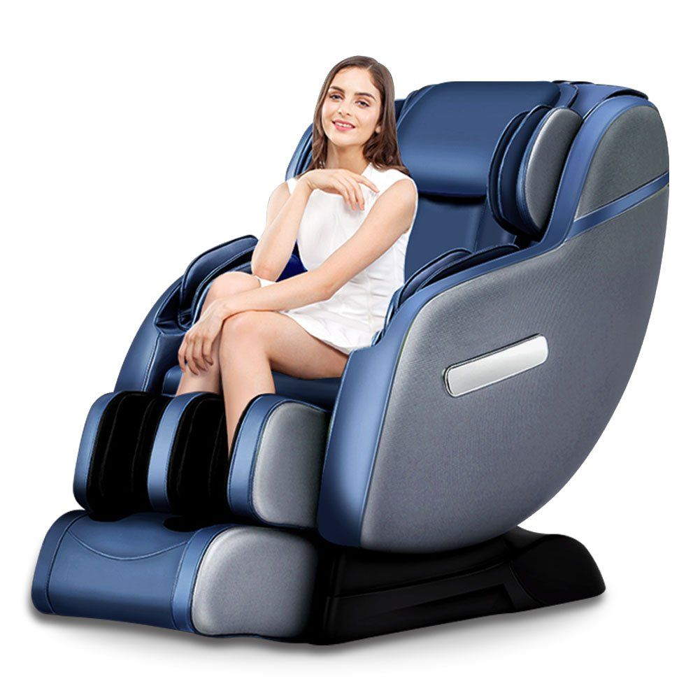 Real Relax Massage Chair with Heat and Foot Rollers