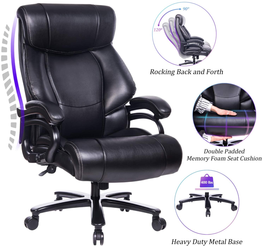Reficcer High Back big and tall office chairs