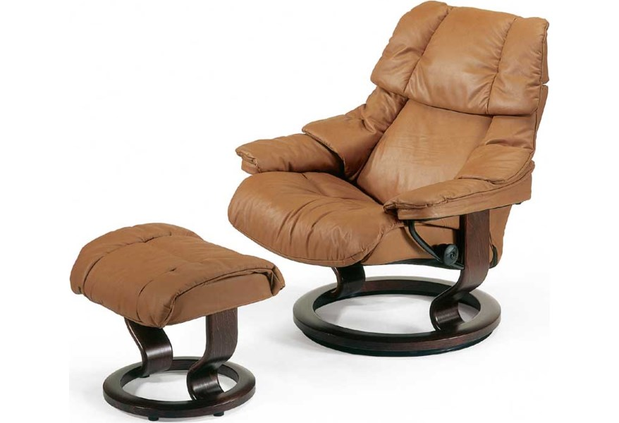 Stressless Reno Chair Large with Classic Base