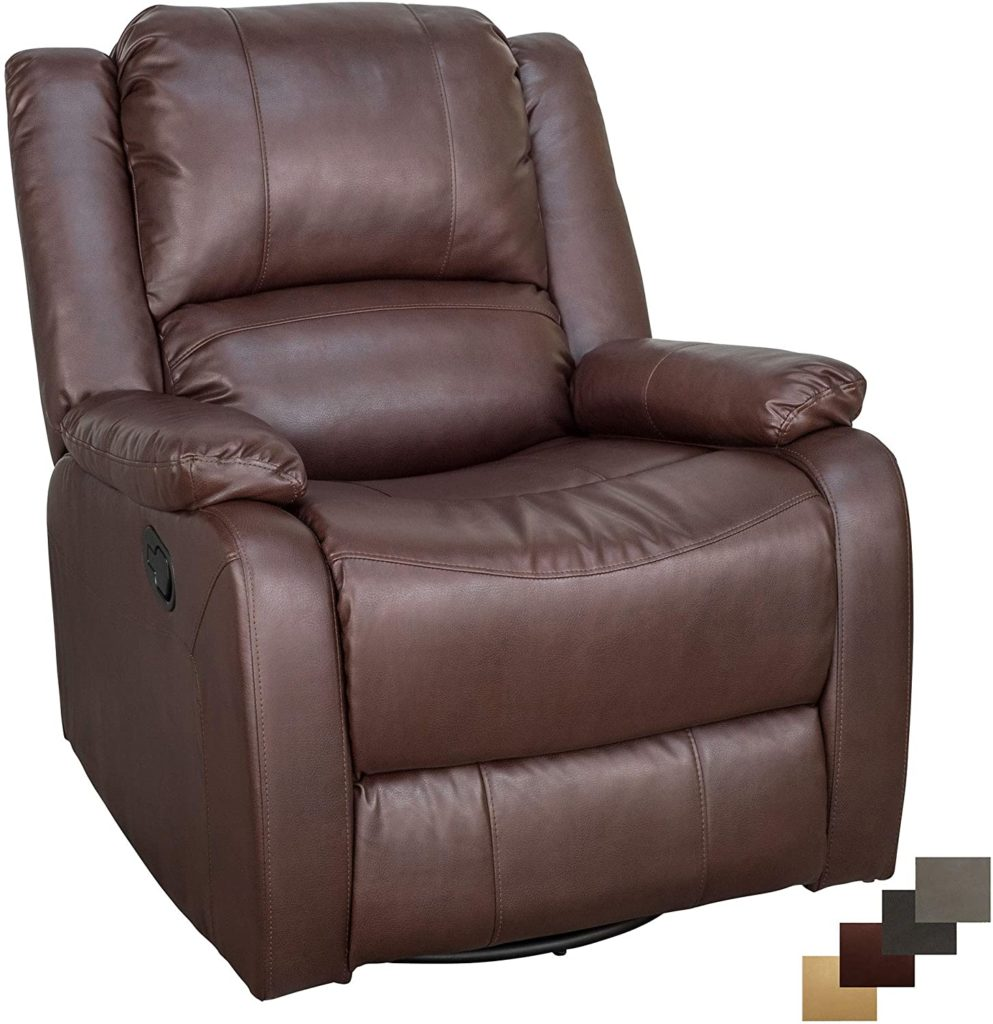RecPro Charles Collection 30″ Swivel Glider RV Recliner