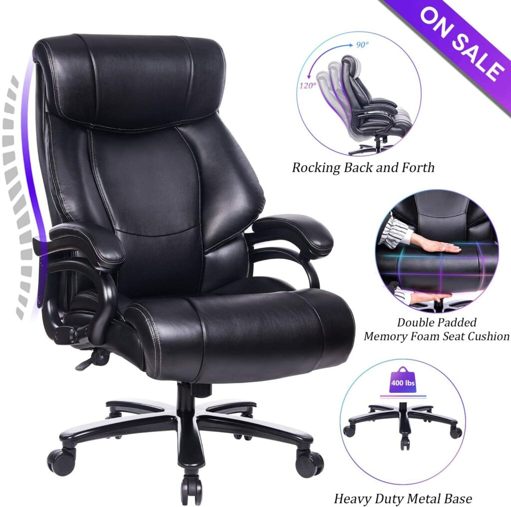 Reficcer High Back big and tall office chair