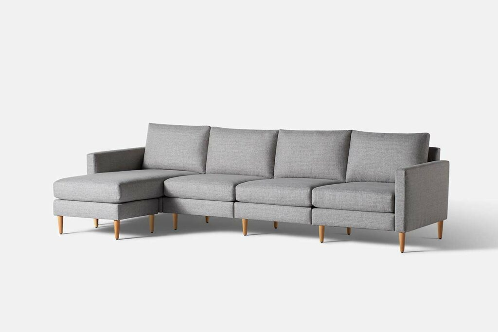 Allform 4-Seat Sofa with Chaise
