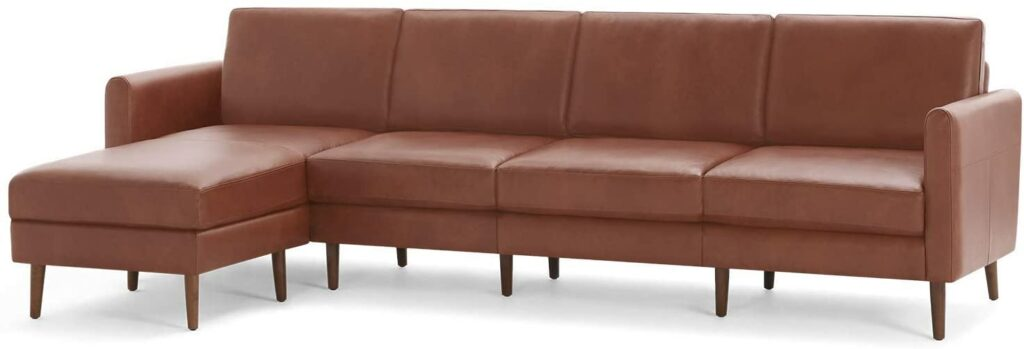 Burrow Nomad Leather Sectional