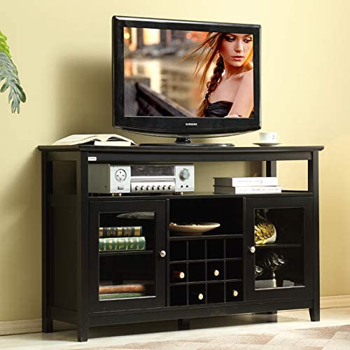 """Mixcept 52"""" Concise Wooden Sideboard Wine Cabinet"""