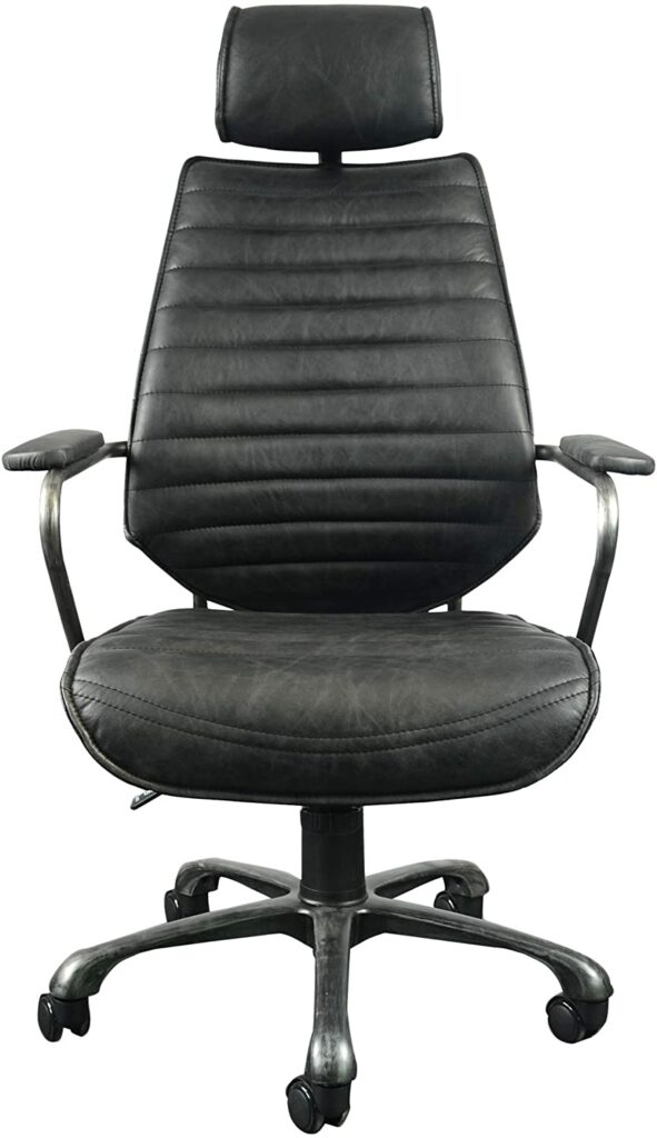 Moe's Home Collection Executive Swivel Office Chair, Black